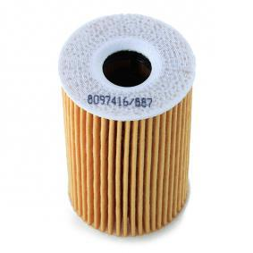 RIDEX Motorölfilter (7O0009)