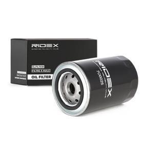 Ölfilter RIDEX Art.No - 7O0025 OEM: RF0123802A für MAZDA, KIA, MITSUBISHI, MERCURY kaufen