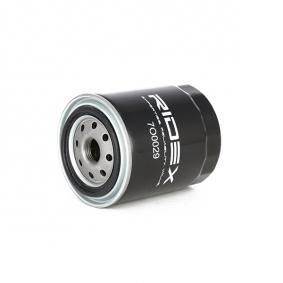 RIDEX Φίλτρο λαδιού 83064 για VW Αγορά