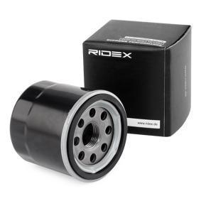 TWINGO II (CN0_) RIDEX Hochleistungs-Bremsscheibe 7O0050