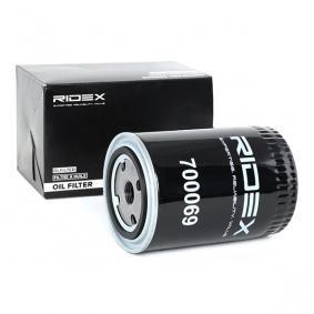 12574927 για VOLVO, Φίλτρο λαδιού RIDEX (7O0069) Ηλεκτρονικό κατάστημ