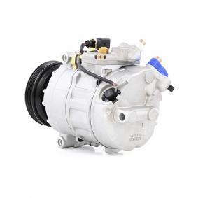 RIDEX 447K0103 Compresor, aire acondicionado OEM - 4B0260805G AUDI, OM, SEAT, SKODA, VOLVO, VW, VAG, HELLA, DELPHI, BEHR HELLA SERVICE, VEMO, ELECTRO AUTO, CUPRA, Henkel Parts a buen precio
