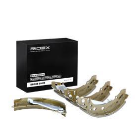 867609527 für VW, AUDI, SKODA, SEAT, VAUXHALL, Bremsbackensatz RIDEX (70B0061) Online-Shop