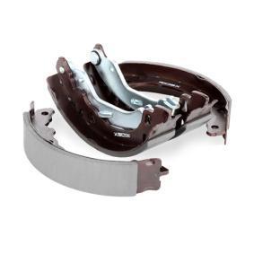 RIDEX Brake shoe set 70B0014
