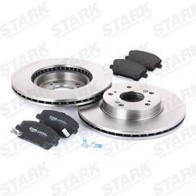 Fék készlet Art. No: SKBK-1090249 gyártó STARK mert HONDA CIVIC jutányos
