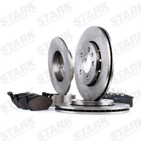 STARK SKBK-1090251 Bremsensatz, Scheibenbremse OEM - JZW615301N AUDI, SEAT, SKODA, VW, VAG günstig