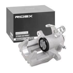 RIDEX Bremsekaliper Bagaksel venstre 78B0005 ekspertviden