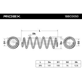 RIDEX Muelles (188C0050)