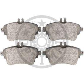 OPTIMAL Bremsbelagsatz, Scheibenbremse A0064204820 für MERCEDES-BENZ bestellen