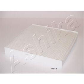 ASHIKA Filtro aire habitáculo 21-H0-H011