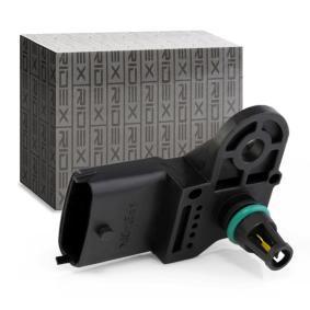 PUNTO (188) RIDEX Sensor, intake manifold pressure 3947S0004
