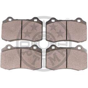 OPTIMAL Bremsbelagsatz, Scheibenbremse 4254C6 für PEUGEOT, SEAT, CITROЁN, VOLVO, JAGUAR bestellen