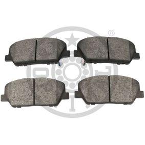 OPTIMAL Bremsbelagsatz, Scheibenbremse 58101A6A20 für OPEL, HYUNDAI, KIA bestellen