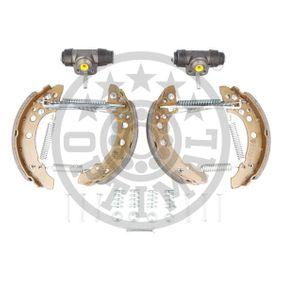 Bremsensatz, Trommelbremse OPTIMAL Art.No - BK-5000 OEM: 867698511AX für VW, AUDI, SKODA, SEAT kaufen