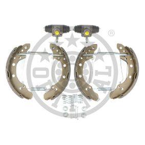 Bremsensatz, Trommelbremse OPTIMAL Art.No - BK-5136 OEM: 6Y0609525A für VW, AUDI, SKODA, SEAT kaufen