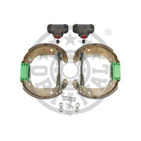 Bremsensatz, Trommelbremse OPTIMAL Art.No - BK-5164 OEM: 7701205755 für RENAULT, DACIA, RENAULT TRUCKS kaufen