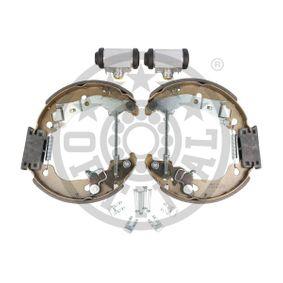 Brake set, drum brakes BK-5166 OPTIMAL