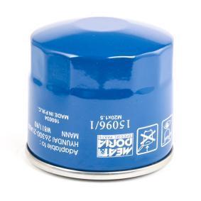 MEAT & DORIA 15096/1 Ölfilter OEM - 5527655812 MOTOKOV, SCHAEFF günstig