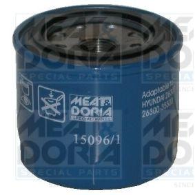 MEAT & DORIA Oil filter (15096/1)