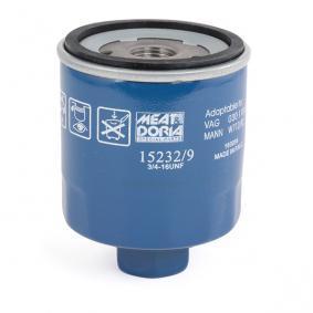 MEAT & DORIA 15232/9 Ölfilter OEM - 030115561AB AUDI, SEAT, SKODA, VW, VAG, FIAT / LANCIA, VW (SVW), CUPRA günstig