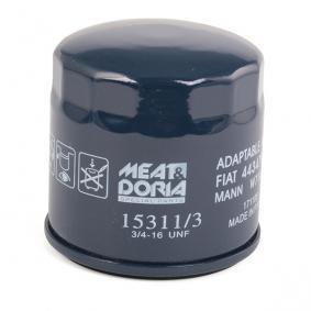 MEAT & DORIA 15311/3 Ölfilter OEM - 7984778 GMC, OPEL, SKODA, VAUXHALL, CHEVROLET, DAEWOO, GENERAL MOTORS günstig