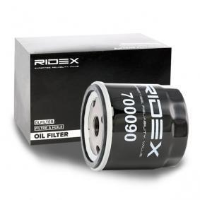 RIDEX 7O0090 Filtre à huile OEM - 276217536 LAMBORGHINI, LOMBARDINI à bon prix