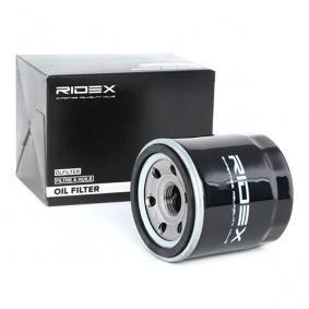 Aveo / Kalos Hatchback (T250, T255) RIDEX Filtro de aceite 7O0145