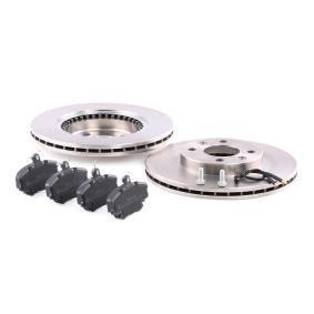 RIDEX Bremsscheiben und Bremsbeläge 3405B0017
