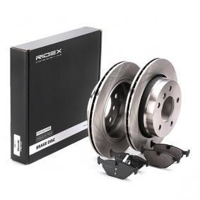 RIDEX Bremsscheiben und Bremsbeläge 3405B0024