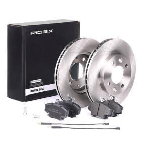 RIDEX Bremsscheiben und Bremsbeläge 3405B0060