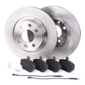 RIDEX Bremsscheiben und Bremsbeläge 3405B0125