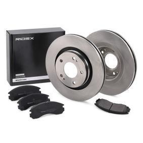 RIDEX Bremsesett, skivebremser framaksel, Ø: 294mm, ventilert 3405B0065 fagkunnskap