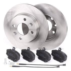 RIDEX Bremsscheiben und Bremsbeläge 3405B0095