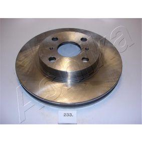 Bremsscheibe ASHIKA Art.No - 60-02-233 OEM: 4351212550 für TOYOTA, SUZUKI, CHEVROLET, LEXUS, ISUZU kaufen