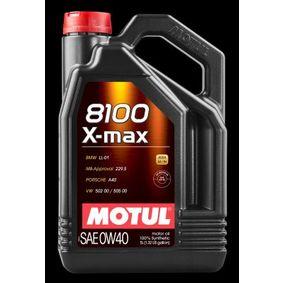 MB 229.5 MOTUL Двигателно масло, Art. Nr.: 104533