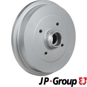 Bremstrommel JP GROUP Art.No - 1163500700 OEM: 1H0501615A für VW, AUDI, FORD, SKODA, SEAT kaufen