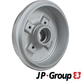 JP GROUP Bremstrommel 1H0501615A für VW, AUDI, FORD, SKODA, SEAT bestellen