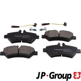 JP GROUP Bremsbelagsatz, Scheibenbremse (1163707610) niedriger Preis