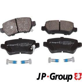 JP GROUP Bremsbelagsatz, Scheibenbremse 1263700110