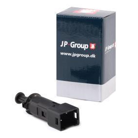 CLIO II (BB0/1/2_, CB0/1/2_) JP GROUP Bremslichtschalter 1296601200
