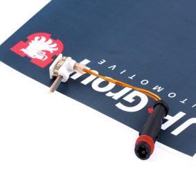 Sensor, Bremsbelagverschleiß JP GROUP Art.No - 1397300500 OEM: 1695401617 für MERCEDES-BENZ kaufen