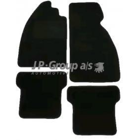 JP GROUP Fußmattensatz Velour quality vierteilig schwarz 8101701716 in Original Qualität
