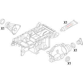 X5 (E53) CORTECO Wellendichtring, Differential 19535862