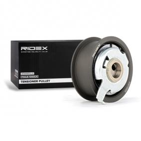 038109243F für VW, AUDI, SKODA, SEAT, Spannrolle, Zahnriemen RIDEX (308T0004) Online-Shop
