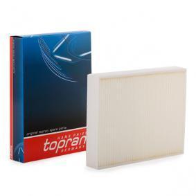Filter, Innenraumluft TOPRAN Art.No - 501 913 OEM: 64119237554 für MERCEDES-BENZ, BMW, ALPINA kaufen