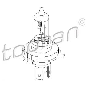Glühlampe, Hauptscheinwerfer TOPRAN Art.No - 104 499 OEM: 7703097171 für RENAULT, NISSAN, DACIA, IVECO, RENAULT TRUCKS kaufen