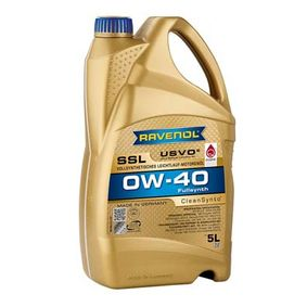 SAE-0W-40 Motorenöl von RAVENOL 1111108-005-01-999 Qualitäts Ersatzteile