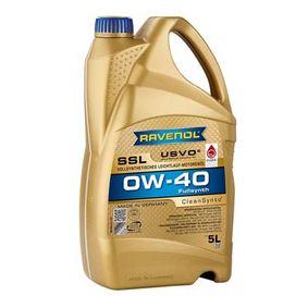 SAE-0W-40 Aceite motor del RAVENOL 1111108-005-01-999 recambios de calidad