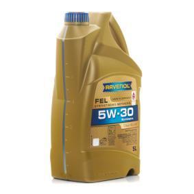 Aceite motor coche RAVENOL (1111123-005-01-999) a un precio reducido