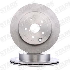 IMPREZA Schrägheck (GR, GH, G3) STARK Bremsscheiben SKBD-0023372